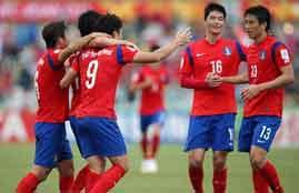 هدف فوز كوريا الجنوبية فى عمان
