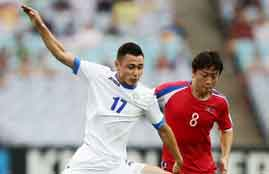 هدف فوز أوزباكستان فى كوريا الشمالية