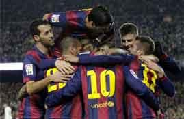 هدف نيمار فى اتلتيكو مدريد