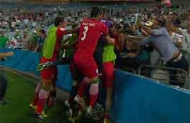 هدف فوز ايران فى قطر