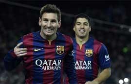 هدف فوز برشلونة فى اتلتيكو مدريد