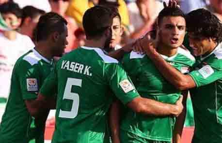 أهداف مباراة ايران والعراق