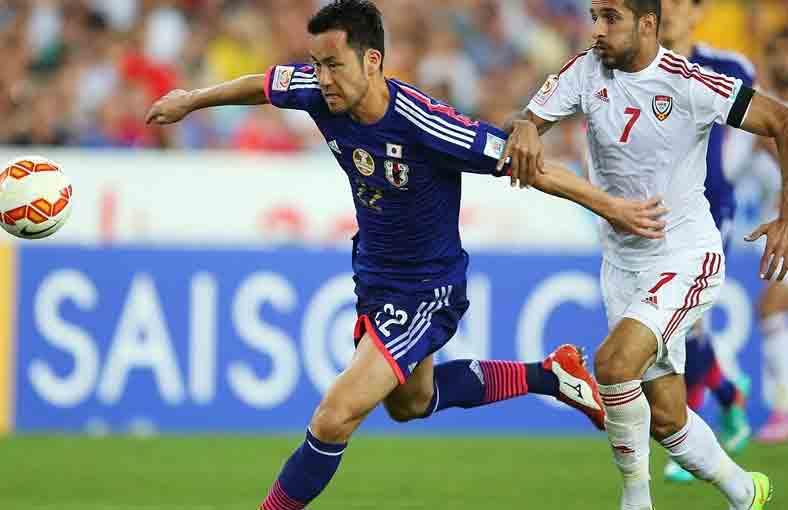 هدفا مباراة اليابان والإمارات