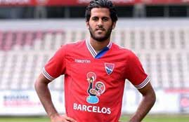 مروان محسن يتسبب فى ضربة جزاء ضد فريقه