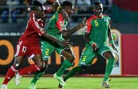 اهداف لقاء الكونغو وبوركينا فاسو