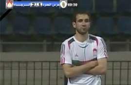 اعتراض لاعبو الرجاء علي طرد عمرو نبيل