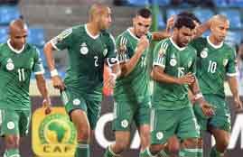 هدفا الجزائر في السنغال