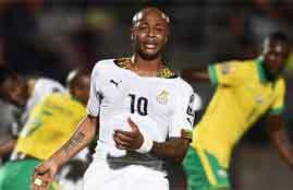 أهداف مباراة غانا وجنوب أفريقيا