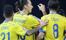 هدفا السويد في مرمي ليشتنشتاين