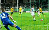 هدفا مباراة سلوفينيا وليتوانيا