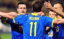 هدفا أوكرانيا في مرمي مقدونيا
