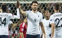 أهداف مباراة الدنمارك وفرنسا