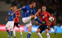 اهداف لقاء ايطاليا والنرويج