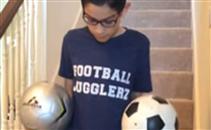 مهارة لا تصدق لطفل عمره 11 عام