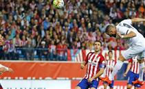 هدف ريال مدريد الاول لبنزيمة في اتلتيكو مدريد