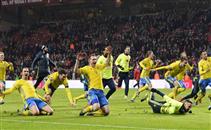 اهداف مباراة الدنمارك والسويد