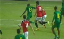 هدف الكاميرون الاوليمبي الاول في مصر