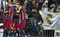 رباعية برشلونة في مرمى ريال مدريد