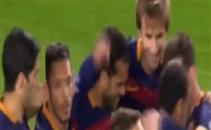 هدف برشلونة السادس في مرمى روما