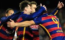اهداف مباراة برشلونة وروما