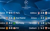 أهداف اليوم الثاني من الجولة الخامسة لدوري الأبطال