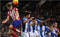 هدف اتلتيكو مدريد في مرمى اسبانيول