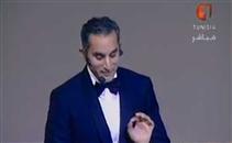 باسم يوسف يذكر التوانسة بهدف تريكة في الصفاقسي