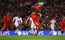 هدف ليفربول في مرمى سوانزي سيتي