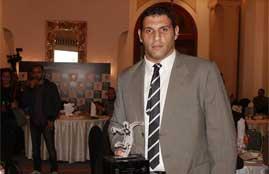 جانب من حفل تكريم فريق كرة اليد المصري