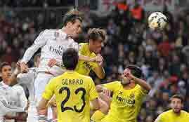هدفا مباراة ريال مدريد وفياريال