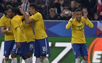 أهداف مباراة فرنسا والبرازيل