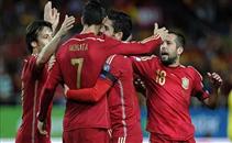 هدف اسبانيا فى مرمى اوكرانيا