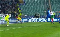 هدف بلغاريا الثانى فى مرمى إيطاليا