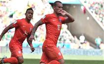 هدف التعادل لهولندا فى تركيا