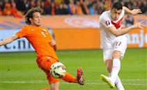 هدفا مباراة هولندا وتركيا