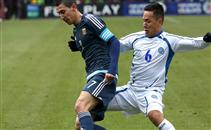 منتخب السلفادور يتلاعب بالأرجنتين