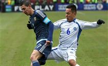 هدفا الأرجنتين فى السلفادور