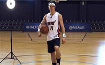 جاريث بيل يتألق في كرة السلة