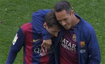 هدفا برشلونة فى فالنسيا