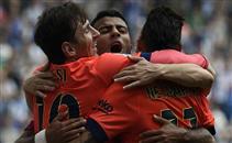 هدفا برشلونة فى اسبانيول
