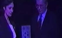 المايسترو صالح سليم يتسلم جائزة نادى القرن فى أفري