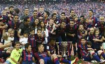 تتويج برشلونة بالدوري الأسباني