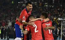 هدفا تشيلي في مرمي الإكوادور