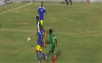 هدف نيجيريا الأول في مرمي تشاد