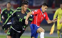 اهداف لقاء تشيلي والمكسيك