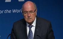 مؤتمر إستقالة بلاتر من رئاسة الفيفا