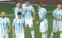 حفلة أهداف مباراة الأرجنتين وباراجواي