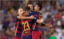هدف فوز برشلونة فى مالاجا