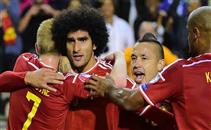 أهداف مباراة بلجيكا والبوسنة والهرسك