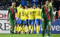 ثلاثية السويد فى مرمى بلغاريا
